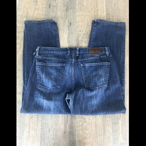 LUCKY BRAND WIDE LEG VINTAGE STRAIGHT JEANS 36x32